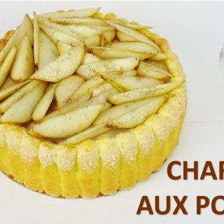 CHARLOTTE AUX POIRES, simple et rapide