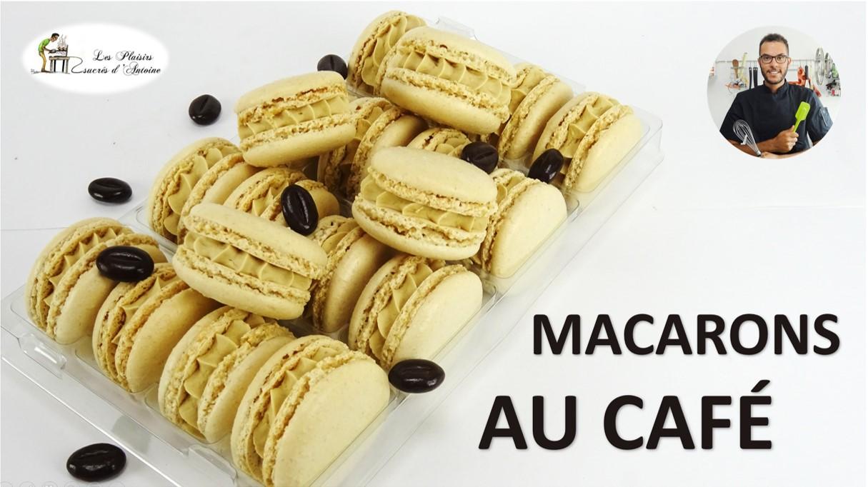 MACARONS AU CAFÉ, simple et rapide