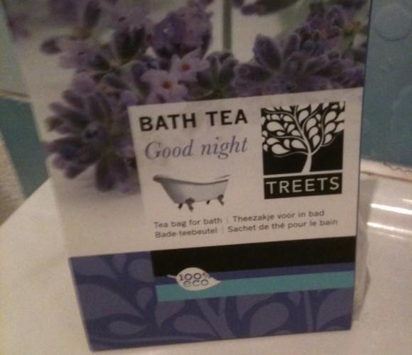 J'ai testé pour vous le thé pour le bain