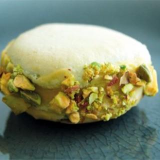 des macarons pistaches authentiques !