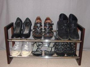 J'ai testé pour vous : l'étagère à chaussures !