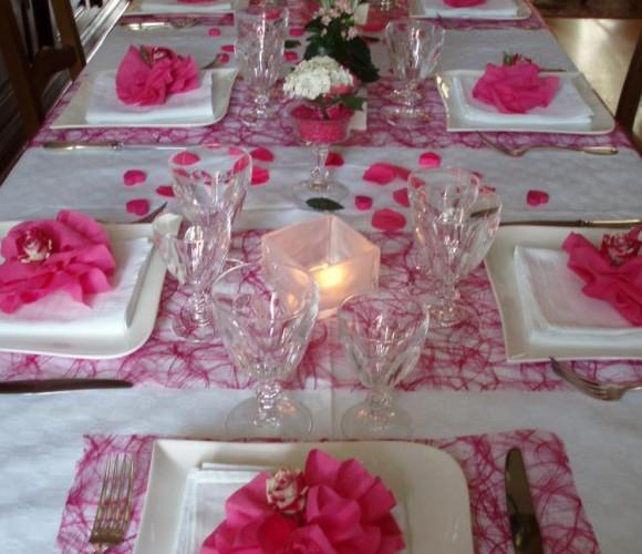 Table de filles pour la Fête des Mères