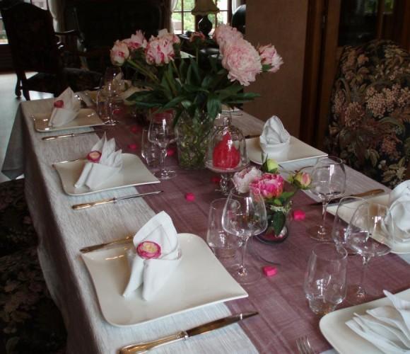 Ma table pour la fête des mères