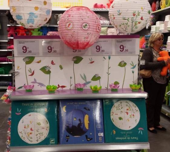 Les boules japonaises dans la chambre de votre enfant