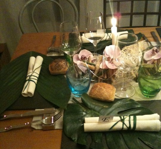 Ma table exotique
