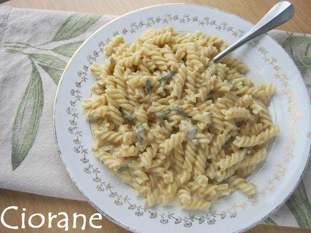 Recette de Ciorane: les pâtes au Maroilles