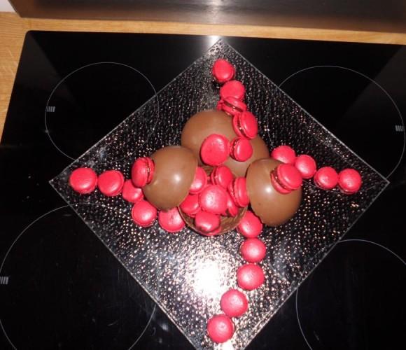J'ai testé pour vous le moule 5 sphères tout choco !