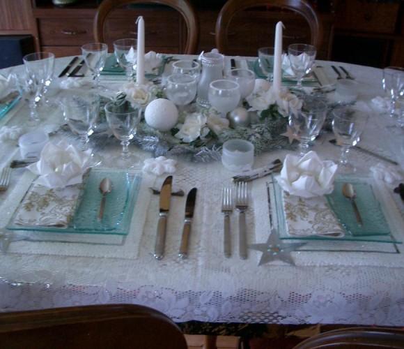 Ma fabuleuse table de réveillon du jour de l'an!