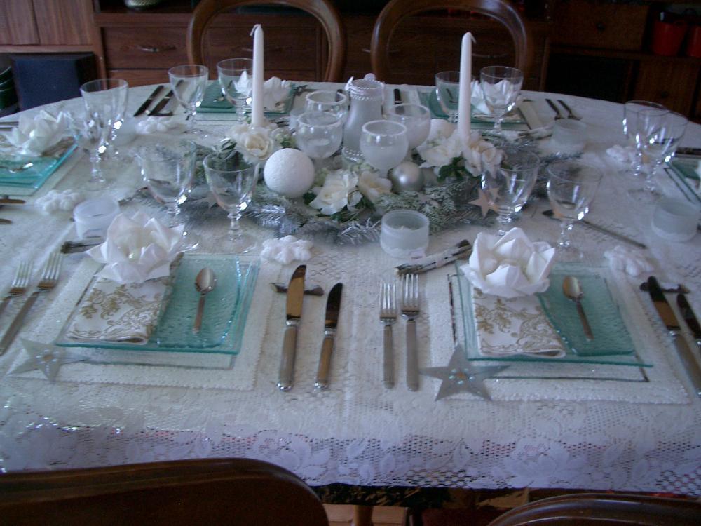 Ma fabuleuse table de r veillon du jour de l 39 an blog z dio for Table jour de l an