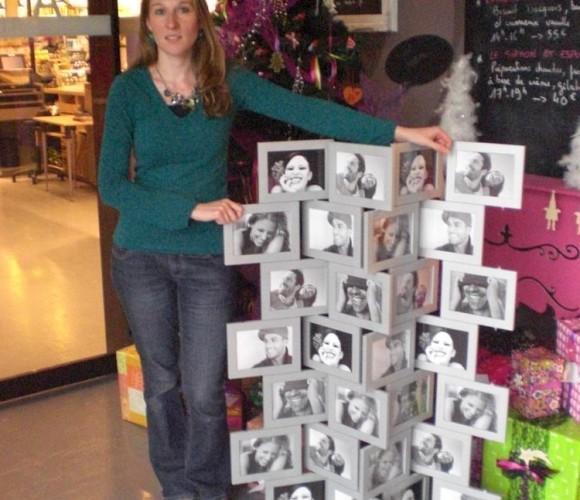 Pour Noël, je vais offrir à mes amis un paravent photos …