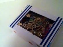 Boîte présentoir et plateau à vernis