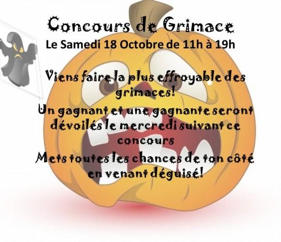 CONCOURS DE GRIMACE