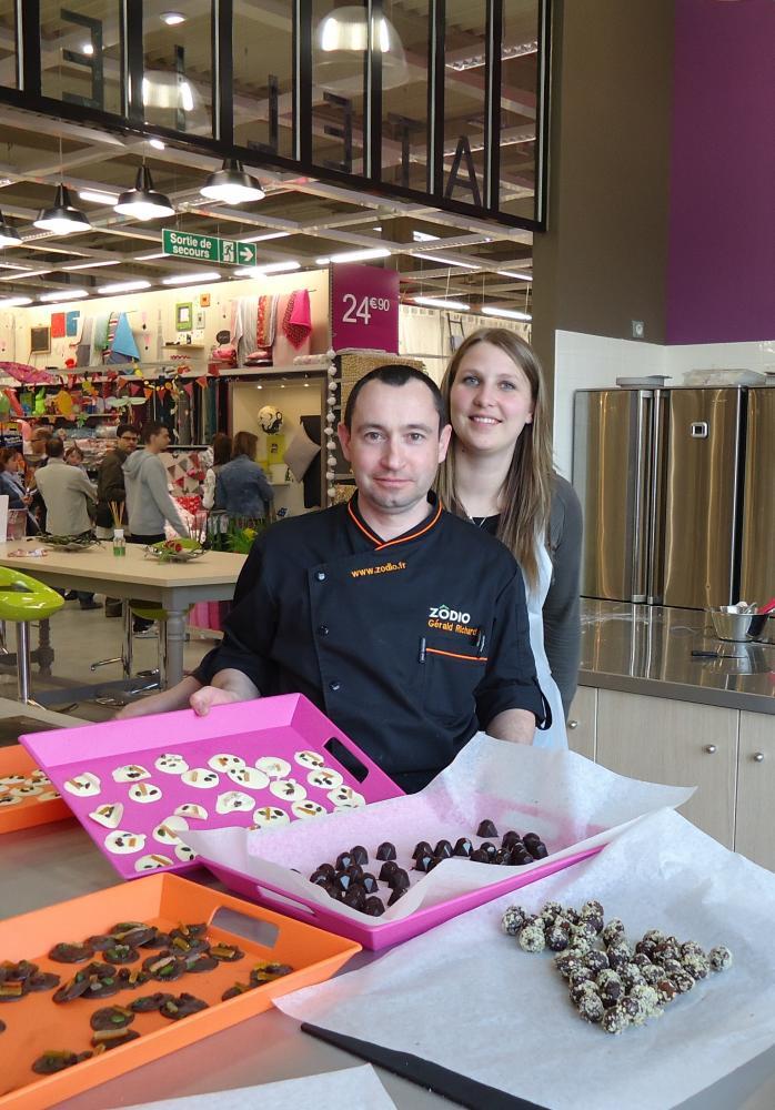 Mon atelier chocolats blog z dio - Zodio chambourcy atelier cuisine ...