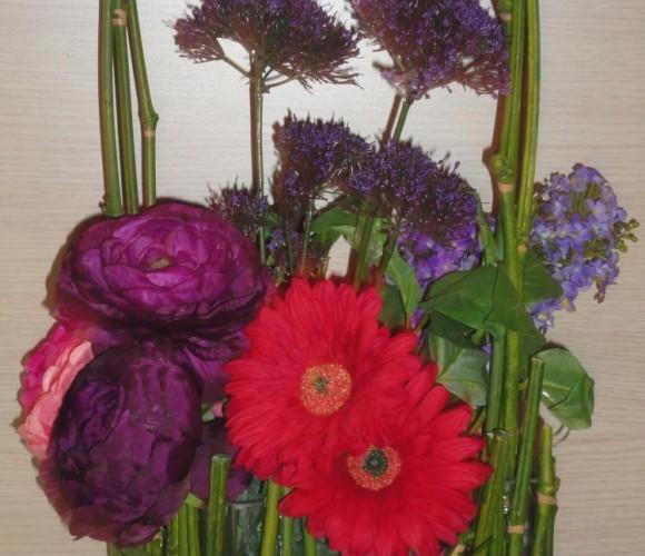 J'ai crée pour ma Maman : une composition florale spectaculaire