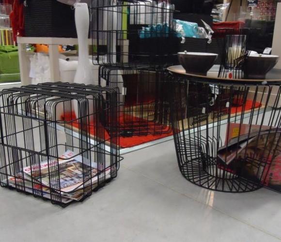 Ma table acier range magazines…