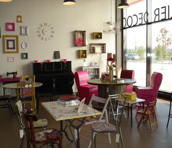 La décoration créative en magasin par Stéphanie