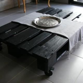 Réalisation de ma table de salon avec une palette!