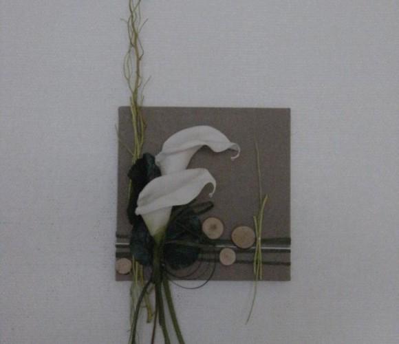 Atelier Création d'un cadre floral