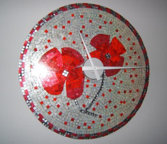 J'ai créé une horloge: idée cadeau pour Noel !