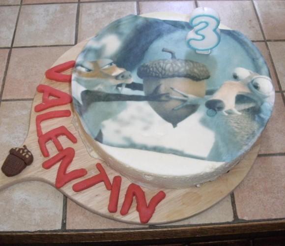 Impression photo pour gâteau!