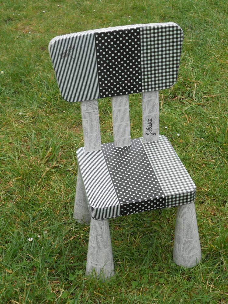 une chaise pour enfant