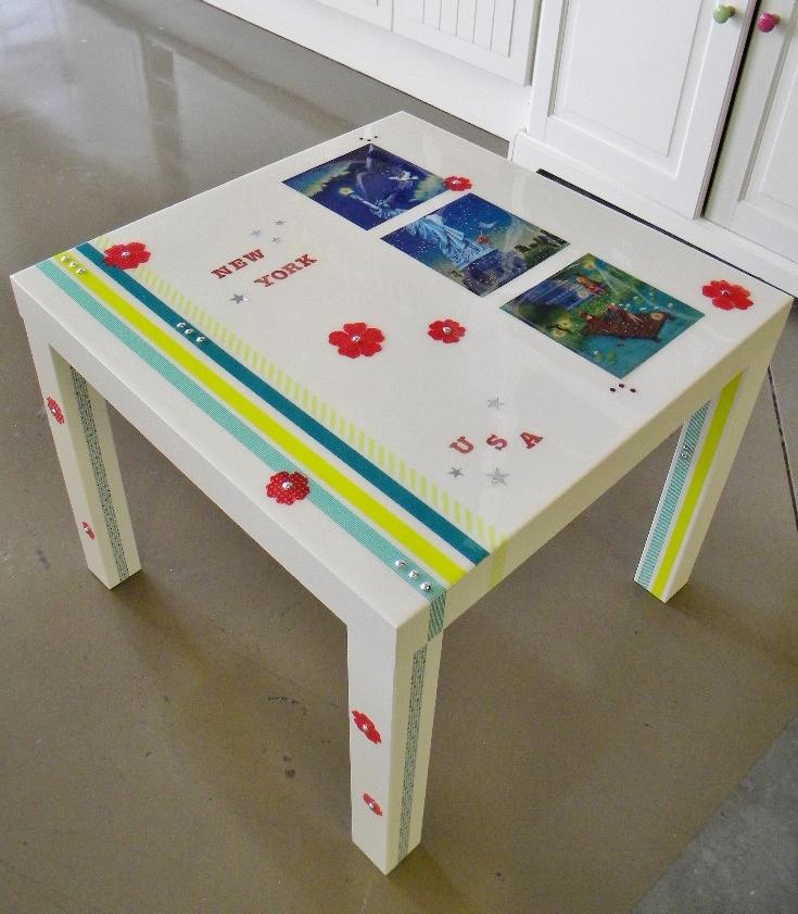 atelier je customise et je r sine une table basse blog z dio. Black Bedroom Furniture Sets. Home Design Ideas