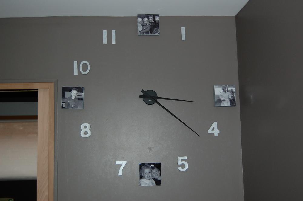 Horloge personnalis e avec nos photos blog z dio for Horloge zodio