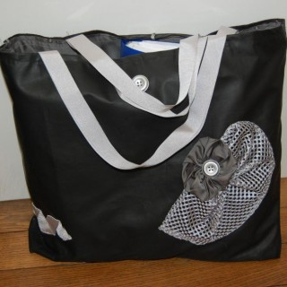 MODELE CREATION SAC GRIS