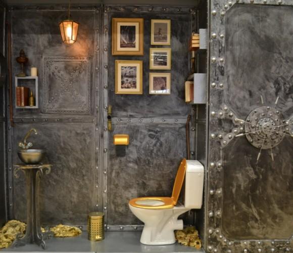 Podium WC créatif…des profondeurs…