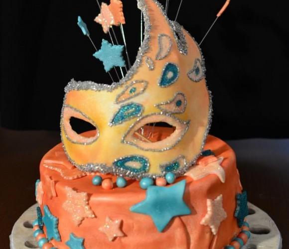 Gâteau Carnaval de Venise