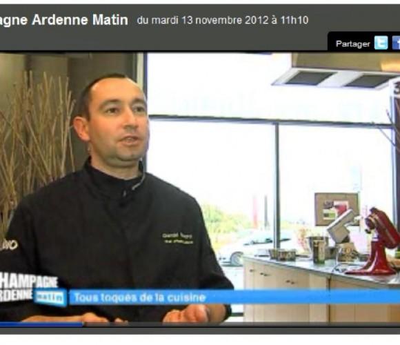 Les cours de cuisine de Gérald en Vidéo sur France 3