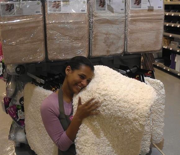 Le tapis de bain sheep: le bien-être commence avant d'entrer dans la douche !