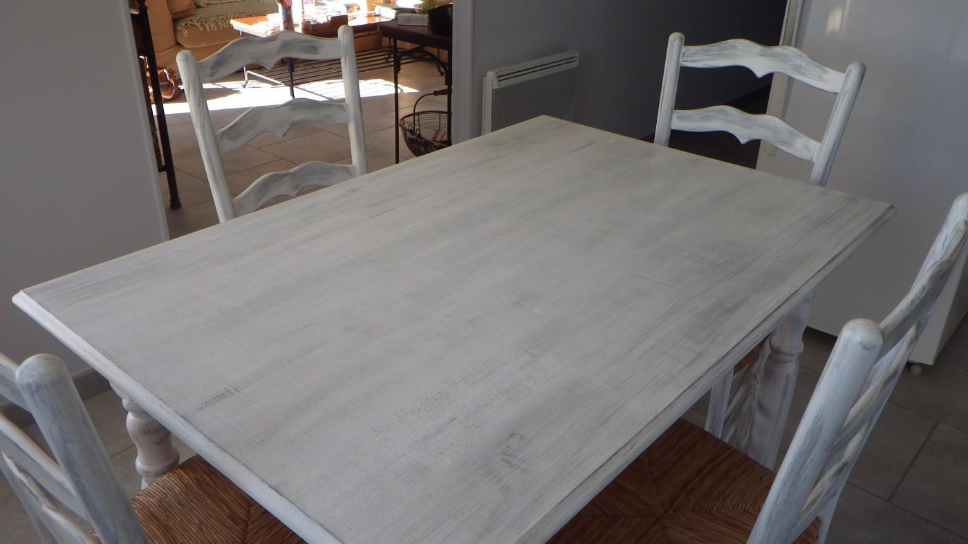 Relooking de meubles blog z dio for Peindre une table