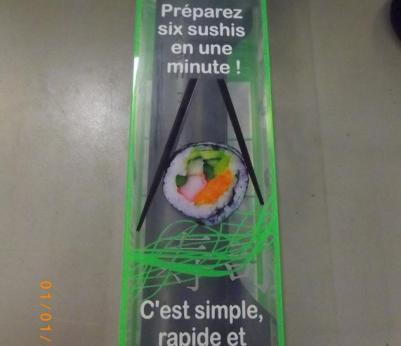 J'ai testé pour vous : la préparation des sushis !
