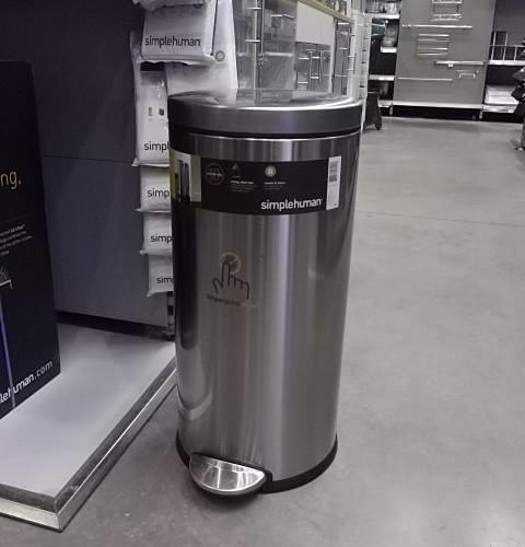 La poubelle SimpleHuman 30L