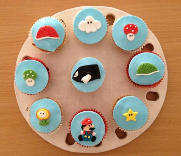 Cupcakes Mario Kart au Nutella