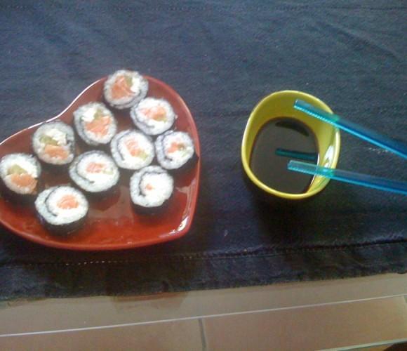 Astuce culinaire pour réaliser vos propres sushis!!