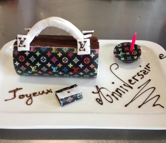 Un gâteau d'anniversaire personnalisé !