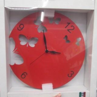 J 39 ai choisi pour ma cousine l horloge papillon en m tal for Horloge zodio