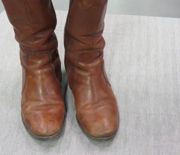 Je rénove mes bottes en cuir