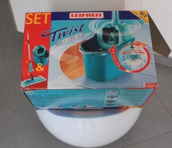 J'ai testé pour vous le TWIST SYSTEM LEIFHEIT pour laver les sols