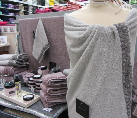 Mon coup de coeur «bien-être» : les serviettes éponges «Les Roses d'Harmony»