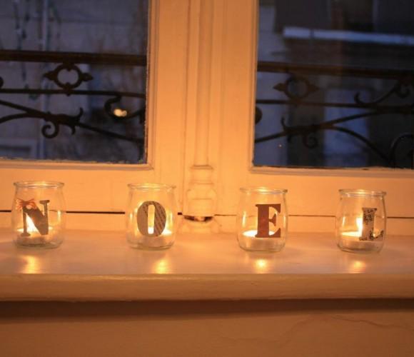 Mes lumignons de Noël
