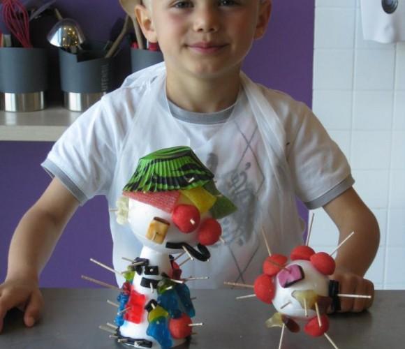 ATELIER CUISINE ENFANTS  : «Je crée ma sculpture en bonbons»