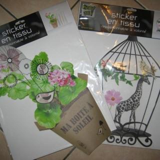j 39 ai test pour vous les stickers en tissu blog z dio. Black Bedroom Furniture Sets. Home Design Ideas