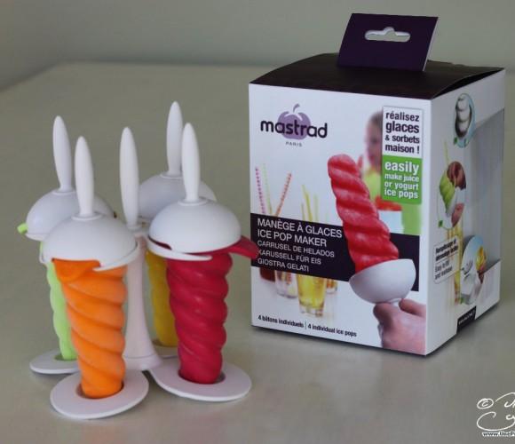 J'ai testé pour vous le manège à glaces de Mastrad