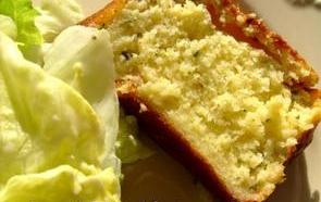 Cake au crabe et langoustines