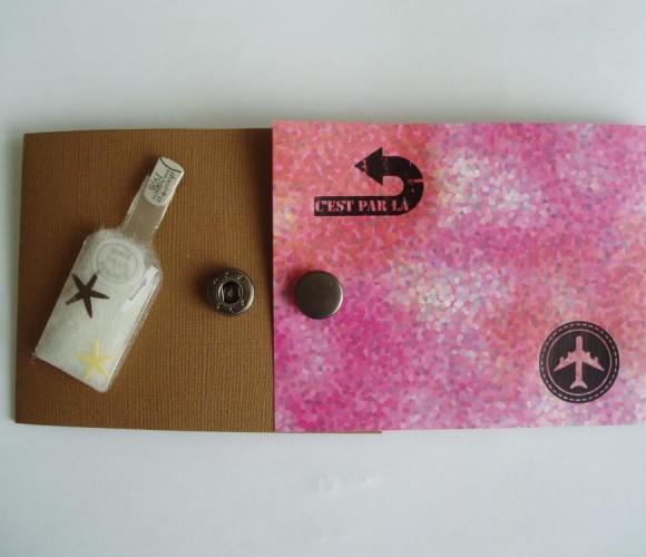 Ma création: créer une pochette cadeau