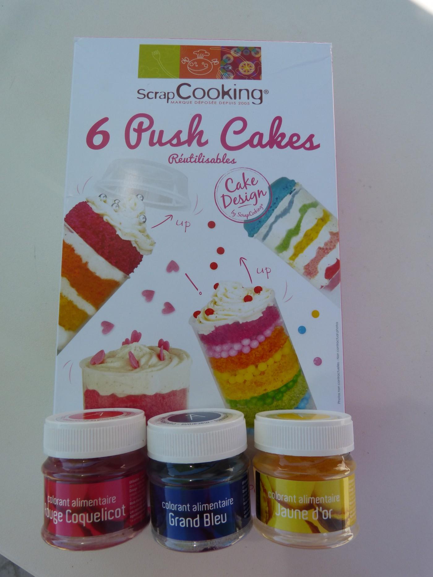 Des Push Cakes pour la fête des Mamans !!!