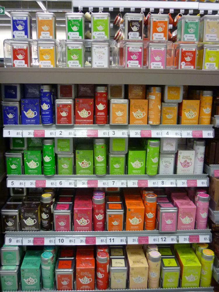 Ma nouveauté coup de cœur : La nouvelle gamme de thés ENGLISH TEA SHOP.